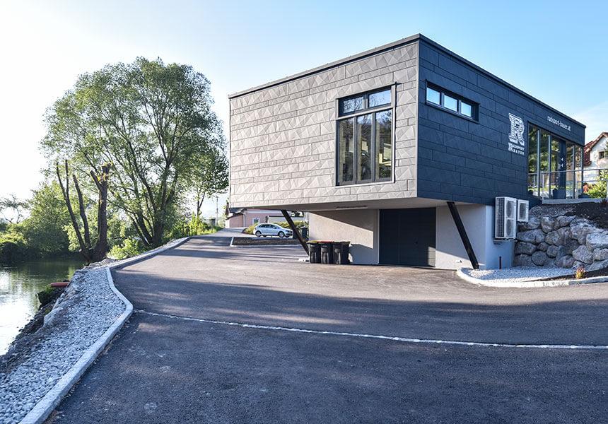 BAUWERK-Herzogenburg Bauprojekt Radsport Bauer