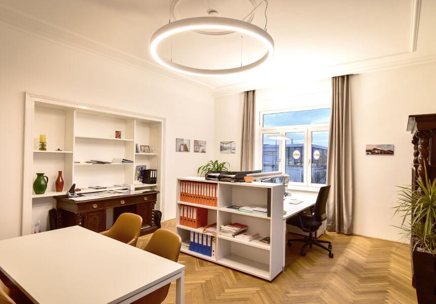Bauwerk Herzogenburg Büro Innenansicht